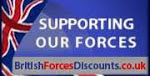 British Forces Discount